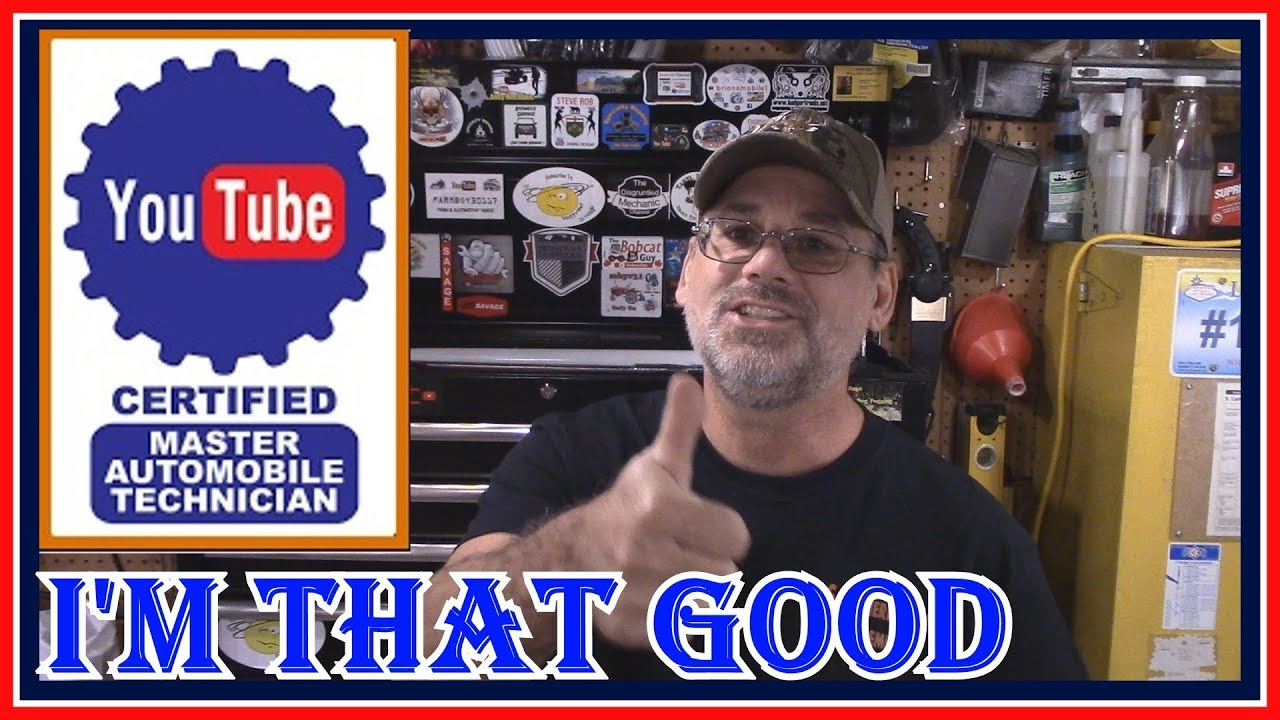 How To Get Ase Certified >> HOW TO BECOME A YOUTUBE MASTER CERTIFIED TECHNICIAN ...