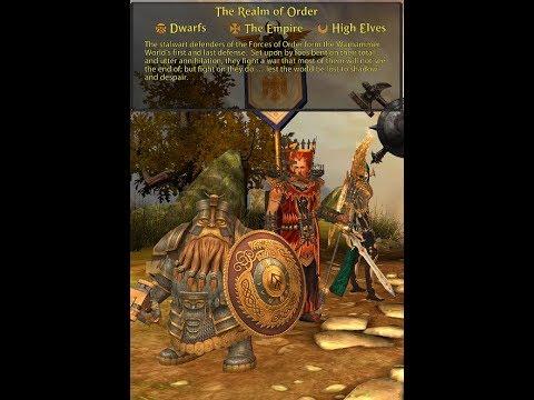 Warhammer Online: Return Of Reckoning  - Order Classes