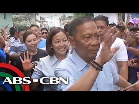 TV Patrol: Ex-VP Binay, susuportahan si Abby sa kaniyang reelection bid