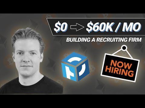 $0 to $60,000/Month Building a Recruiting Firm with Rob 'Crypto Bobby' Paone