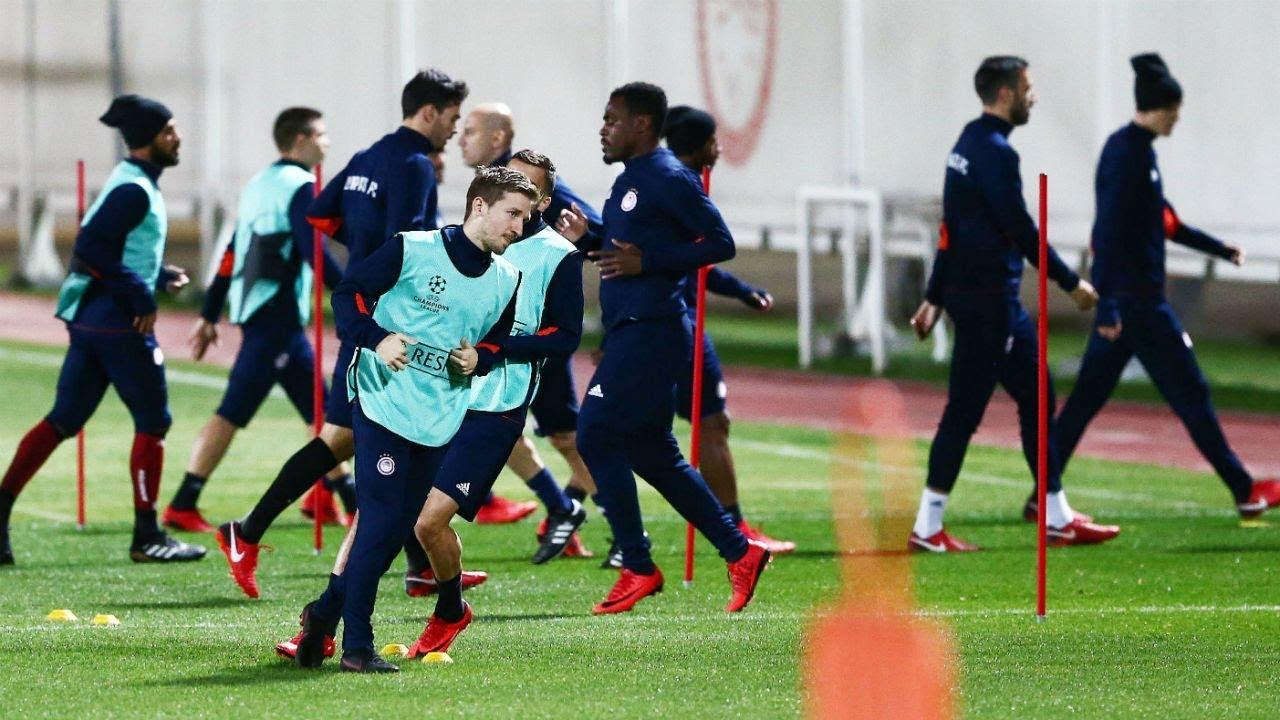 0eb6319e74b Η προπόνηση πριν την Γιουβέντους! / Training ahead of match against Juventus !