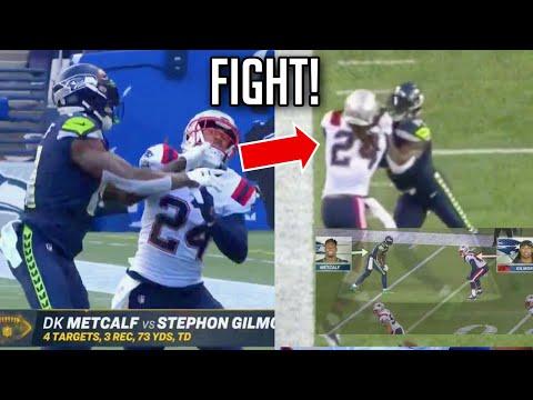 D.K. Metcalf vs Stephon Gilmore & Patriots (HEATED!) || HD Week 2 2020 NFL Season
