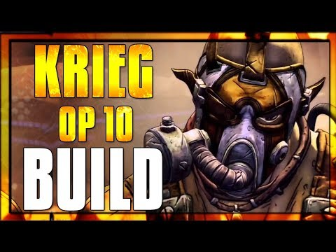 Borderlands 2- Insanely Strong OP 10 Krieg Build - YouTube