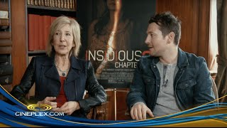 Insidious: Chapter 3's Lin Shaye, Leigh Whannell - Cineplex Interview