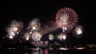 Walt Disney World 4th Of July Fireworks From The Polynesian Beach 2016!!!