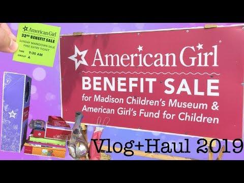 American Girl Benefit Sale Vlog+Haul 2019