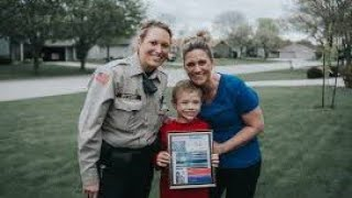 Mom Posted A Plea About Her 8 Year Old Son  Then A Cop Came To Her Door And She Broke Down In Tears
