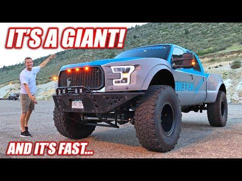 Meet the F-350 MEGA-RAPTOR! (Caution: Puts All Other Ford Raptors To Shame)