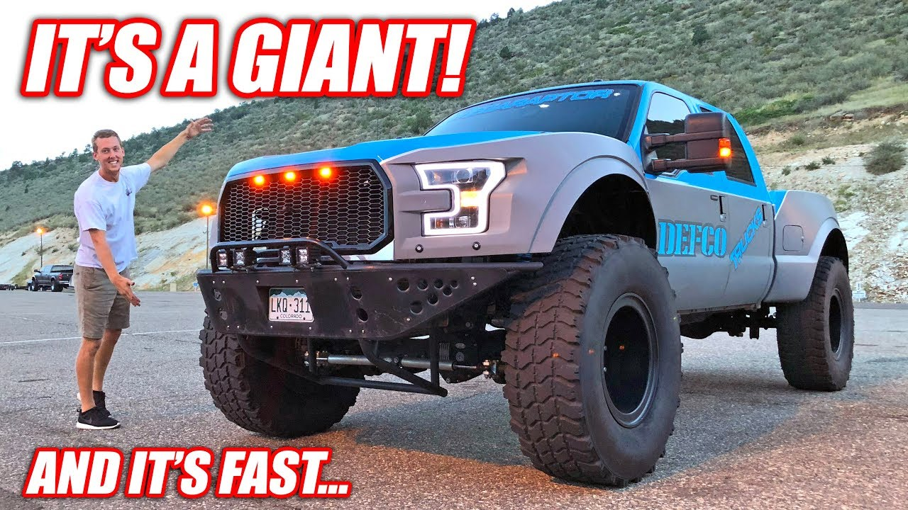 Meet the F-350 MEGA-RAPTOR! (Caution: Puts All Other Ford Raptors To Shame) - YouTube