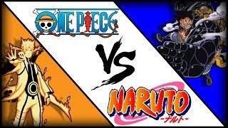 The Power Levels of One Piece and Naruto   Which is Stronger?