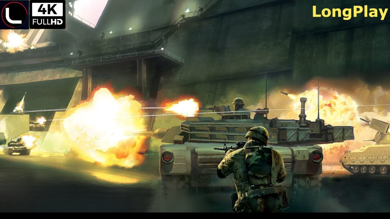 X360 Battlefield 2 Modern Combat Longplay 4k 60fps Youtube