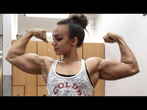 Fbb Muscles Girl | Nadia Amy | Female Bodybuilding | Gym Workout