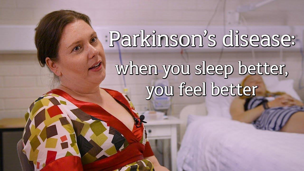 Parkinson's: When you sleep better, you feel better