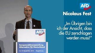 Nicolaus Fest   EU-Wahl '19 - Listenplatz 6