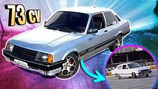 CHEVETTE ORIGINAL FAZ DRIFT ?! «Bruno Bär»