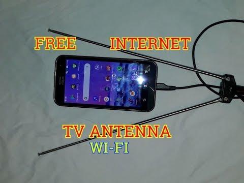 New Free internet 100% -Wi-Fi TV antenna, Ideas Free internet at home 2019
