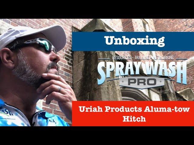 Unboxing - Uriah AlumaTow 8 inch Drop Hitch