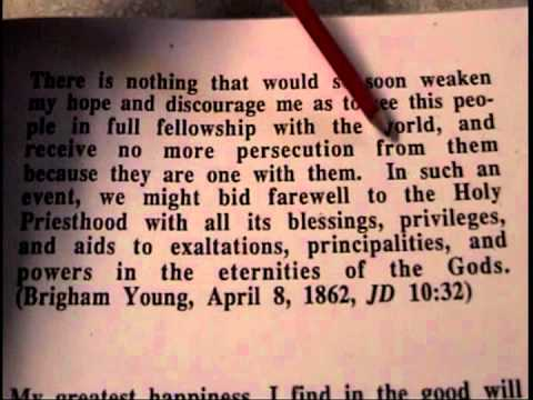 Lukewarm - Part 1 - The changes the LDS Church has made in the past 130 years - LDS / Mormon Truth