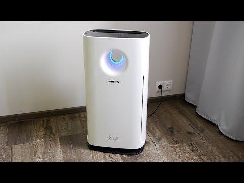 Обзор очистителя воздуха Philips AC3256. Избавляемся от аллергии