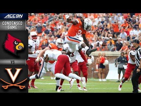 Louisville vs. Virginia Condensed Game   2018 ACC Football