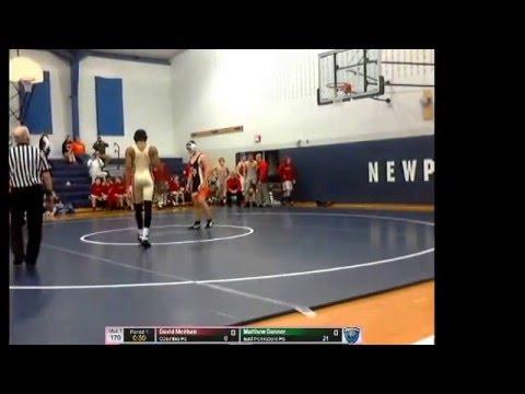 Broadcast East Pennsboro vs Columbia HS Newport Duals Match 3