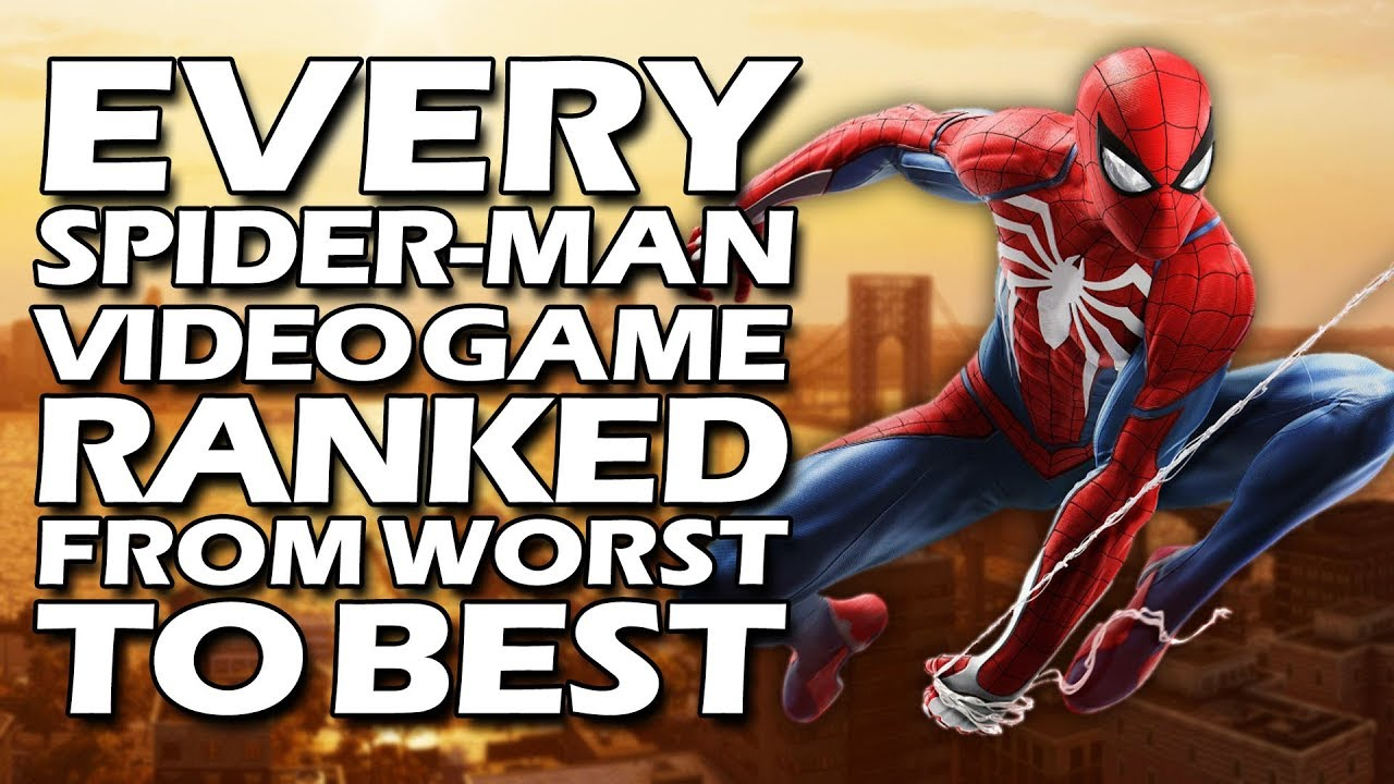 Every Spider-Man Video Game Ranked From Worst to Best