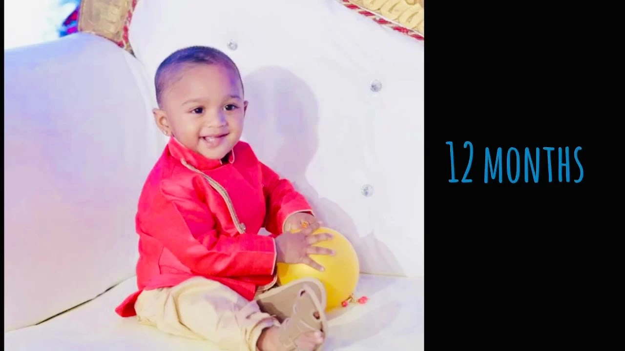 Diy Baby Monthly Birthday Ideas Baby Boy Youtube