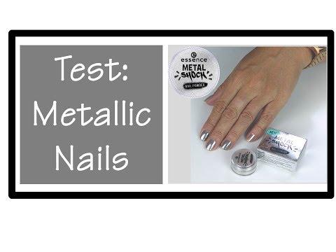 Test und Review | Essence Metal Shock Nail Powder | Bärbel Schäfer