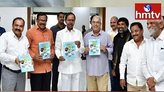 CM KCR Releases book on Kaleshwaram Project |  written by OSD (Irrigation) Sridhar Deshpande | hmtv
