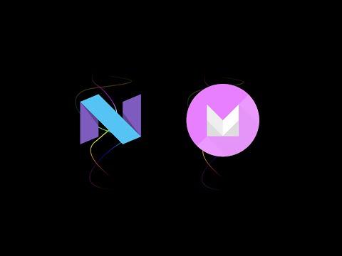 Android N vs Android M Features Comparison - Settings Overview Comparison (Nexus 6 vs Nexus 6P)