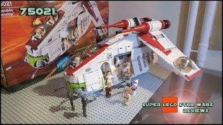 Lego Star Wars 75021 Republic Gunship Review