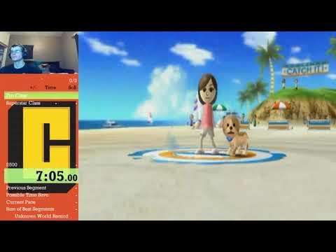 Wii Sports Resort - Frisbee Dog - Pro Class - 8:39   Superstar - 21:40