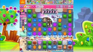 Candy Crush Saga Level 1409 (No Boosters)