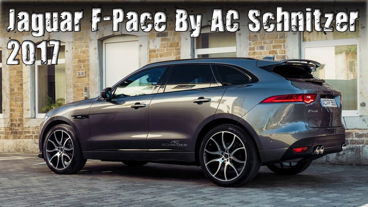 2017 jaguar f pace tuned by ac schnitzer youtube. Black Bedroom Furniture Sets. Home Design Ideas