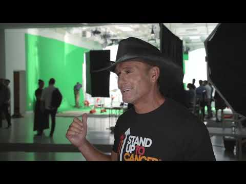 Tim McGraw Stars in New Stand Up To Cancer PSA: See the Behind-the-Scenes Footage