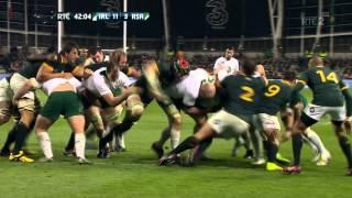 Rhys Ruddock Try Ireland V South Africa Autumn International 2014 HD