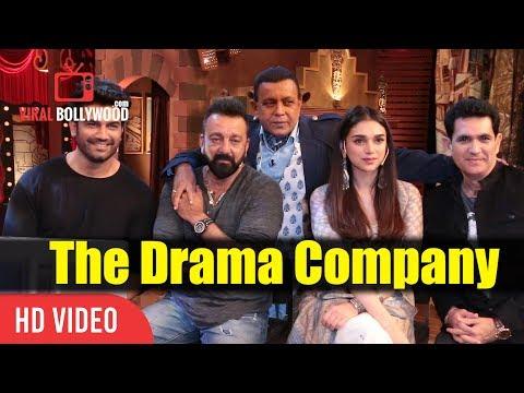Bhoomi Team At The Drama Company   Sanjay Dutt, Aditi, Sharad Kelkar And Mithun