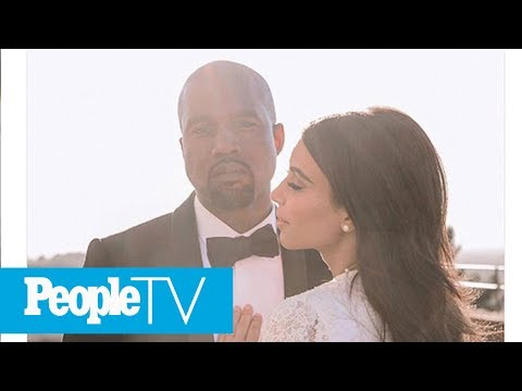 Kim Kardashian Shares Never-Before-Seen Kanye West Wedding Photo | PeopleTV