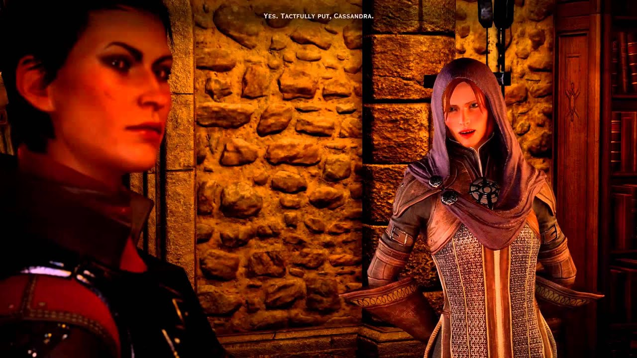 Image result for yes, tactfully put, cassandra dragon age
