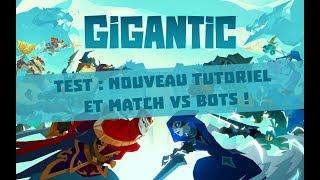 Nouveau Patch : test du tutoriel et des matchs VS bots !