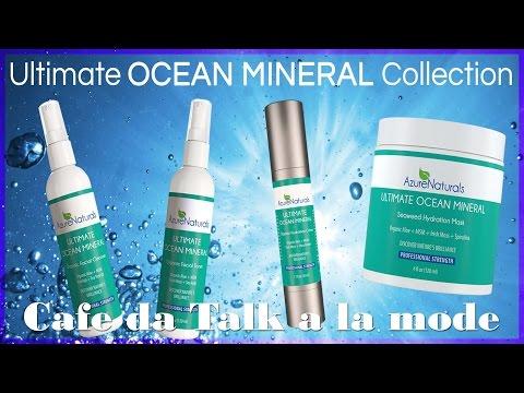 Azure Naturals Ocean Minerals Skincare