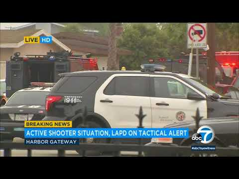 Gunman in custody after killing mother, wounding self at scene of Harbor Gateway fire I ABC7