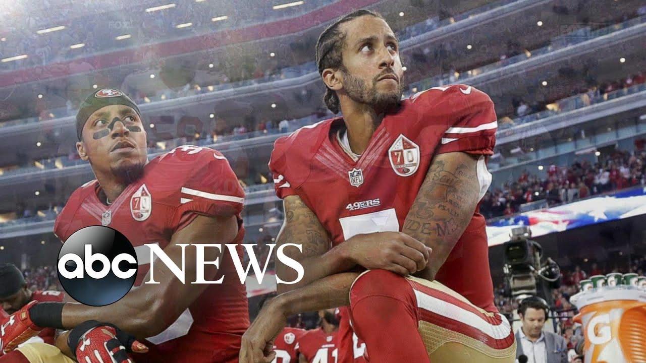 ABC News:Kaepernick fires back at Jay-Z after NFL deal l ABC News