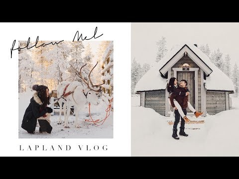 LAPLAND VLOG | January Vlog Pt.3 | Melissackoh