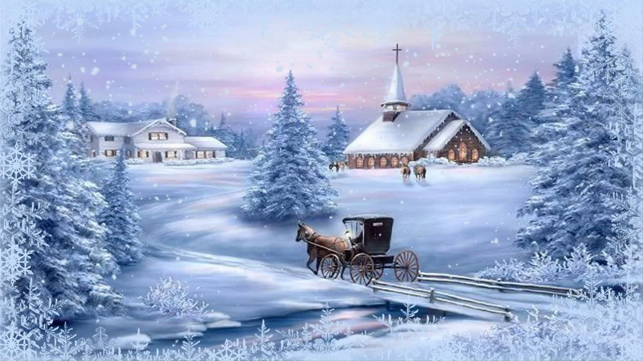 запросу гифки зимние пейзажи с пожеланиями картинка