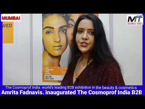 The Cosmoprof India World's Leading B2B Exhibition In Mumbai
