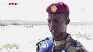 TSK, Somali Türk Görev Kuvveti Komutanlığı'nda, eğitim veriyor.