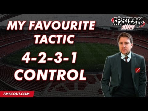 My Favourite Tactic - CurtyFM's 4-2-3-1 Control - Football Manager 2017