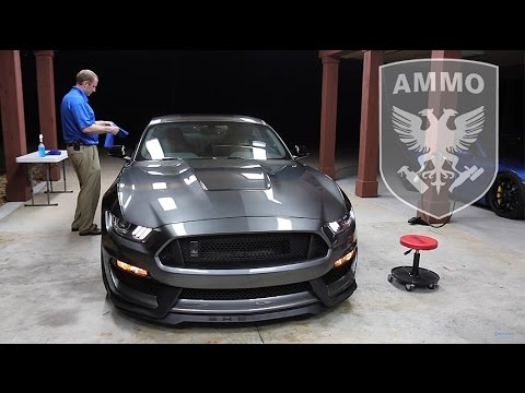 Dialing In My New Shelby GT350: E10 - Applying AMMO Reflex Coating