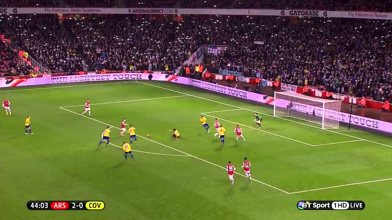FA Cup - Arsenal vs. Coventry highlights 2014.01.24. 720p ...